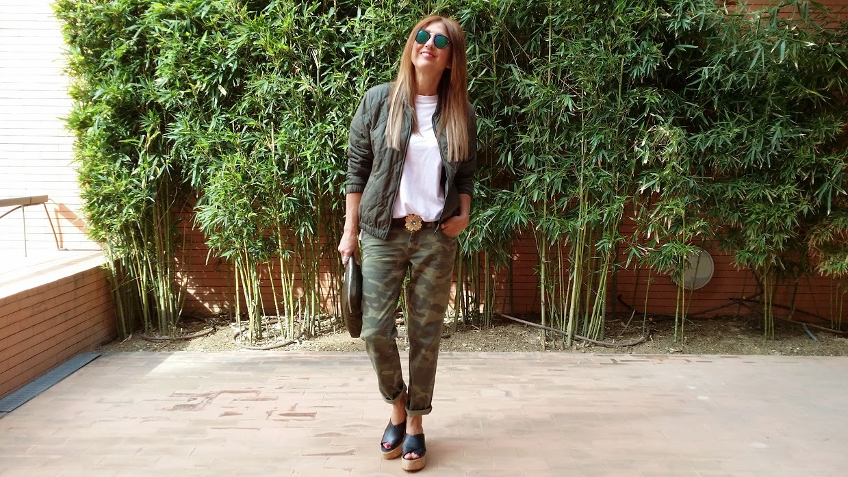 Look, Pants camo, Bag, shoes, Cuarto Milenio, La Nave del Misterio, Expo, Style