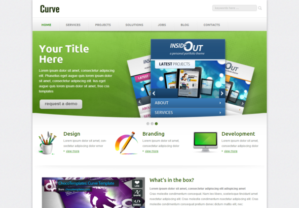 Html5 Css Template. top 35 free download html5 and css3 templates ...