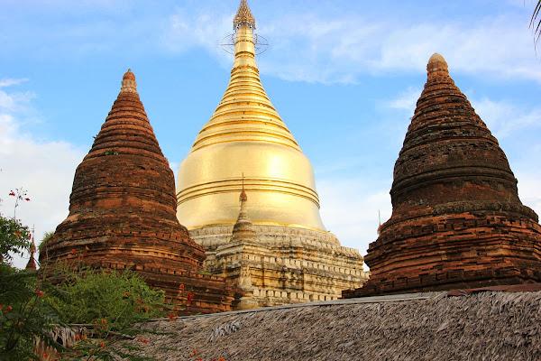 Pagoda Mya Zedi en Bagan