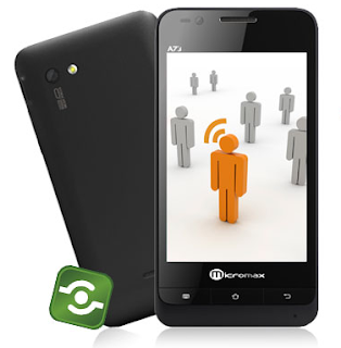 Micromax A73 Superfone Buzz dual SIM smart phone
