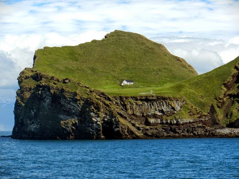 Ellidaey Island off of Westman Islands