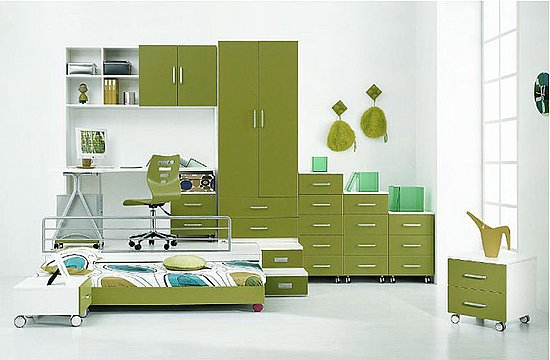 Incredible Green Kids Bedroom Design 550 x 360 · 38 kB · jpeg