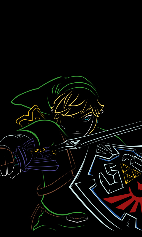 ocarina of time wallpaper iphone