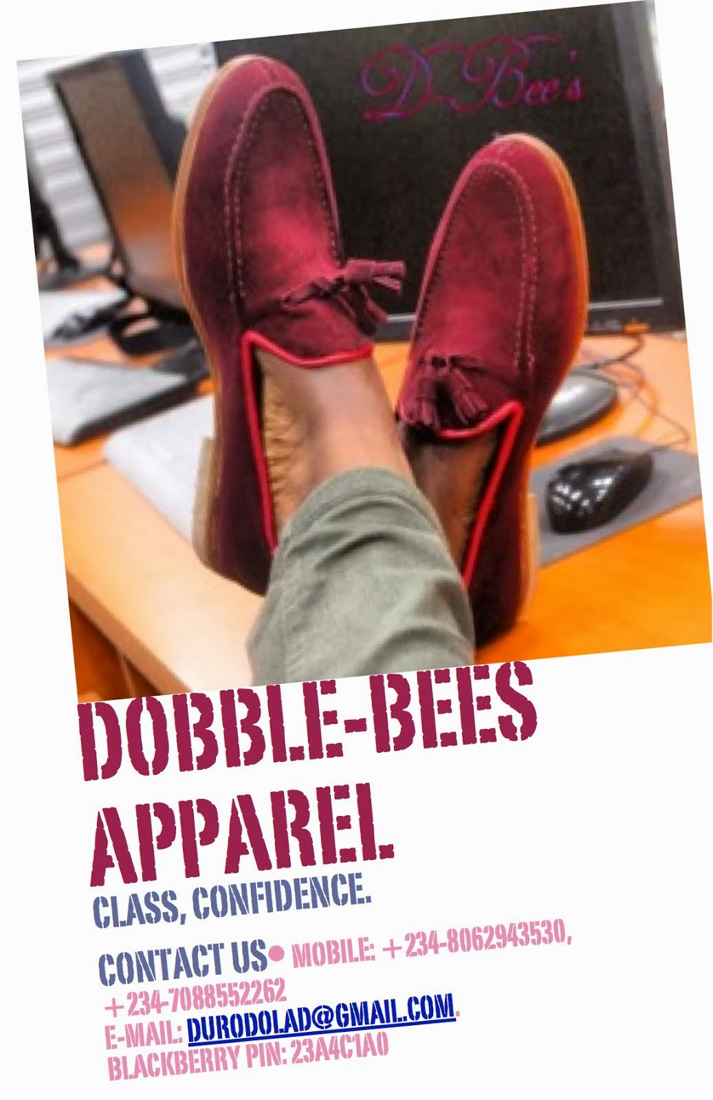 DOBBLE-BEES APPAREL