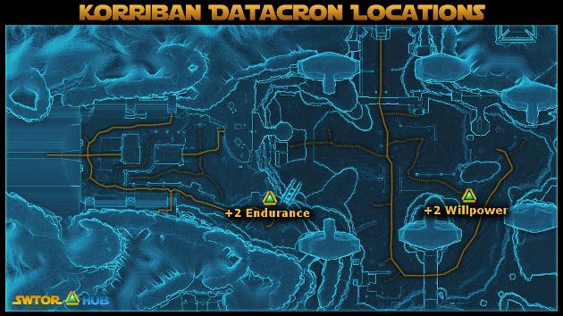 [Guide] Les Datacrons Korriban+Datacron+Locations