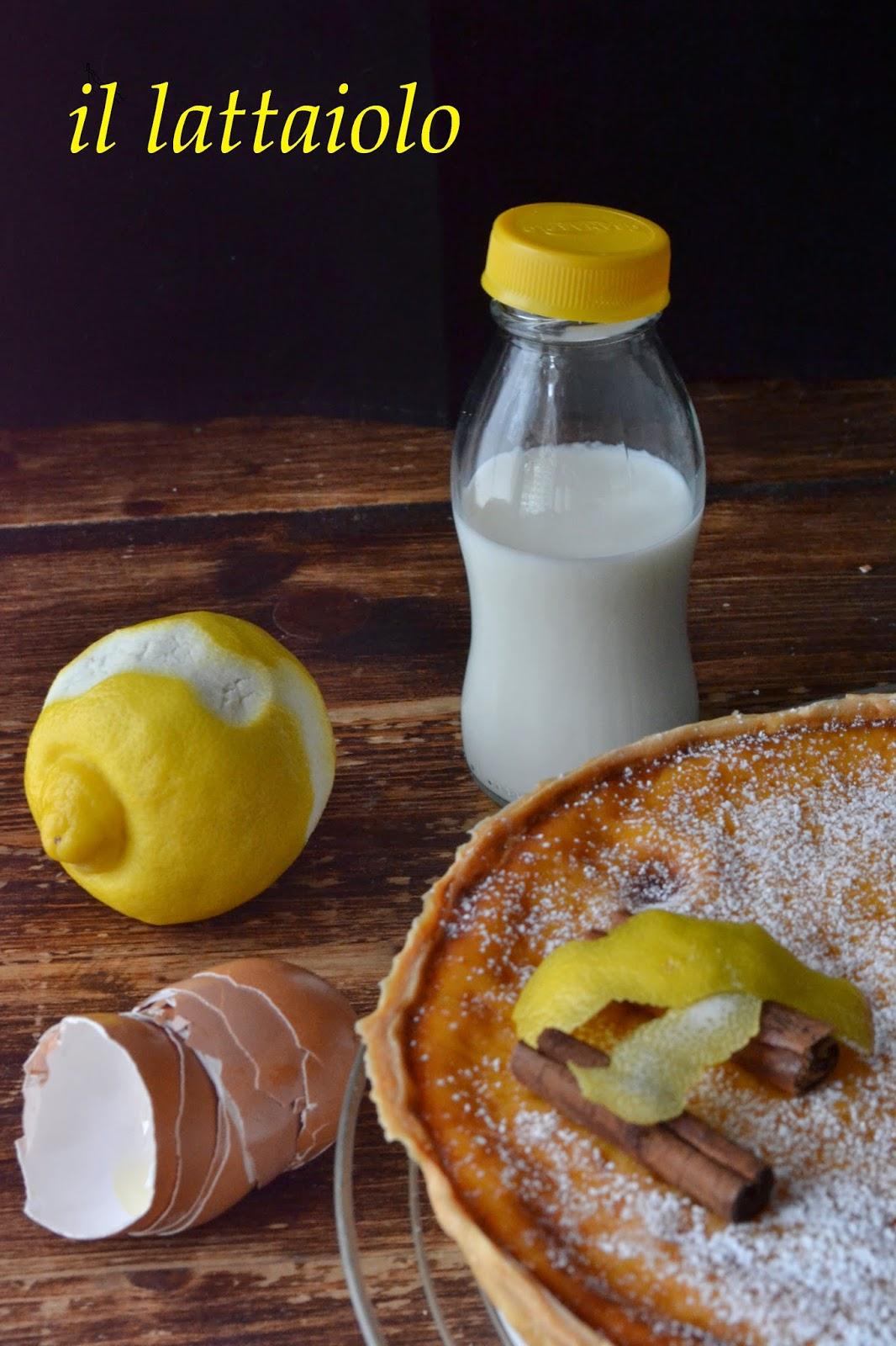 il lattaiolo in pasta matta: ricetta tipica delle marche