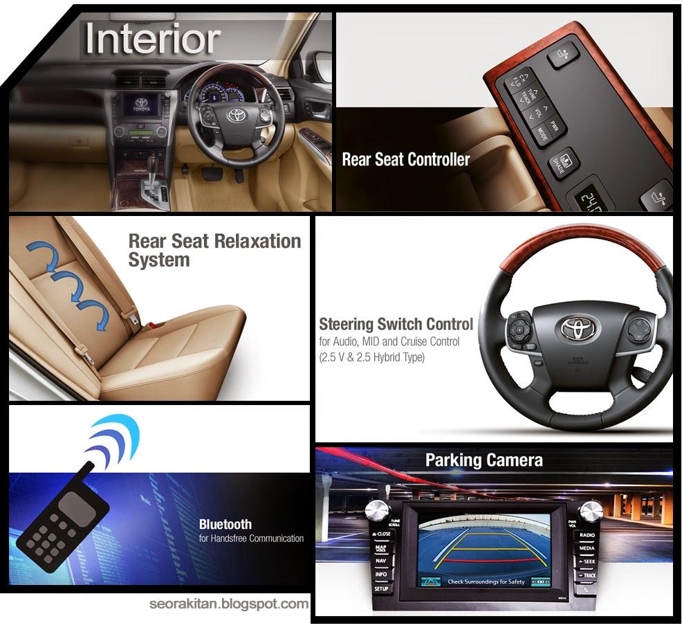 Spesifikasi dan Foto All New Mobil Hybrid Camry