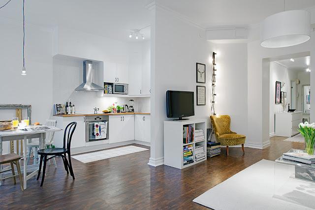 Casa de fifia blog de decora o um pequeno apartamento for Plan de la sala de 40m2