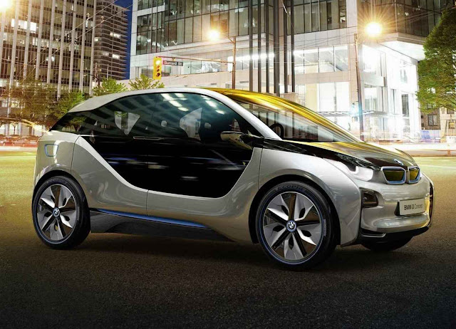 The new picture of BMW i3