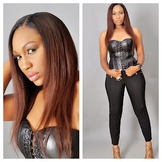 Ebube Nwagbo Celebrates 3rd Anniversary of Her Hair Line Business with New Photoshoot
