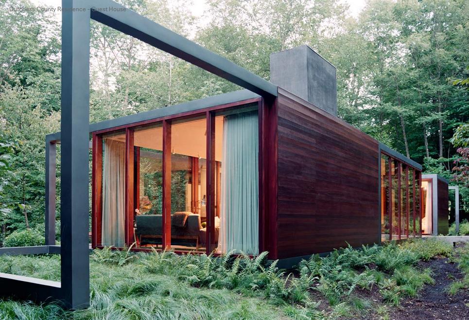 Ara azos en el cielo una casa en el bosque - Casas estructura metalica ...
