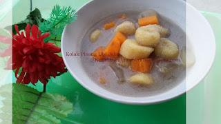 resep kolak pisang, resep kolak ubi jalar, cara membuat kolak