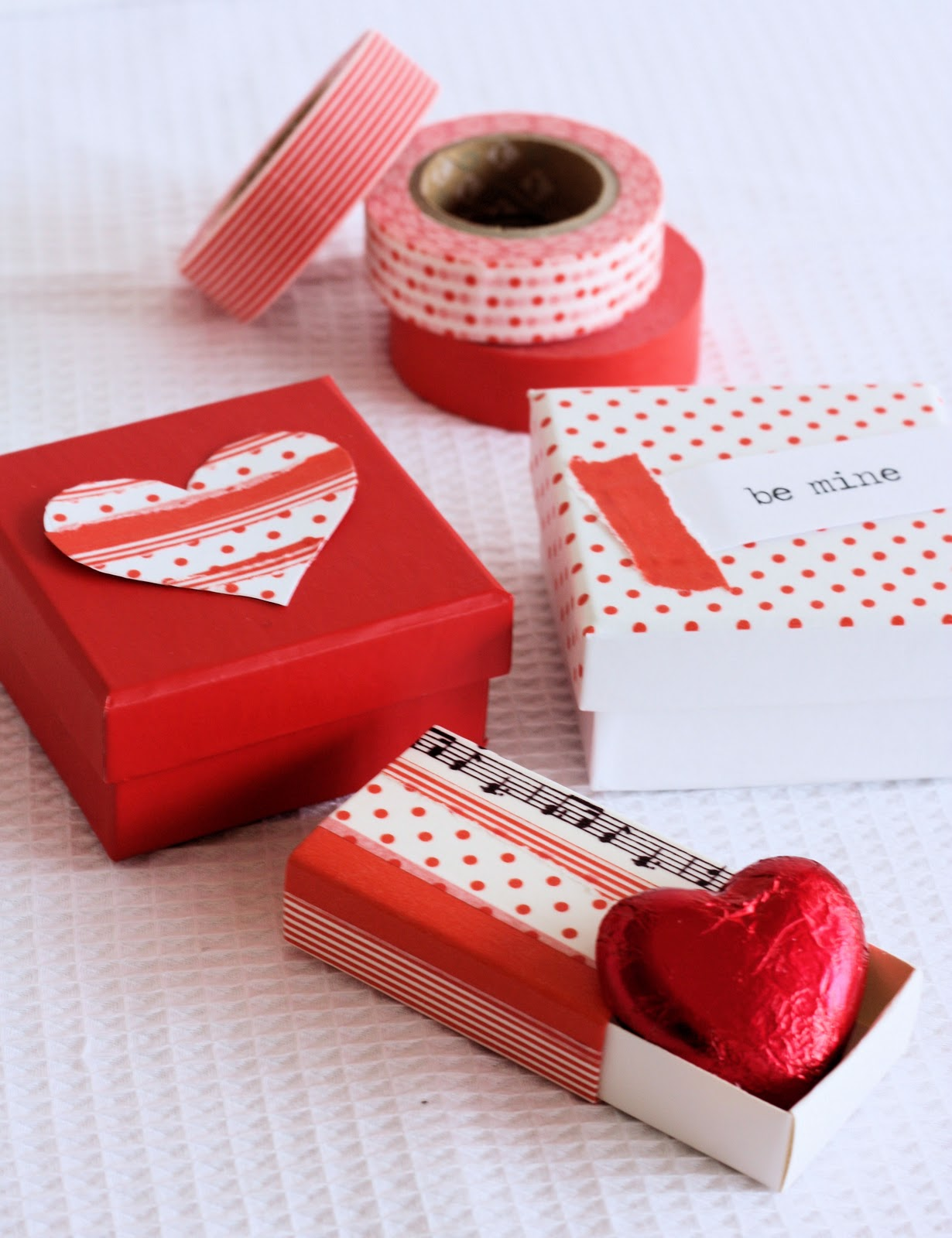 Valentine Boxes - A Spoonful of Sugar