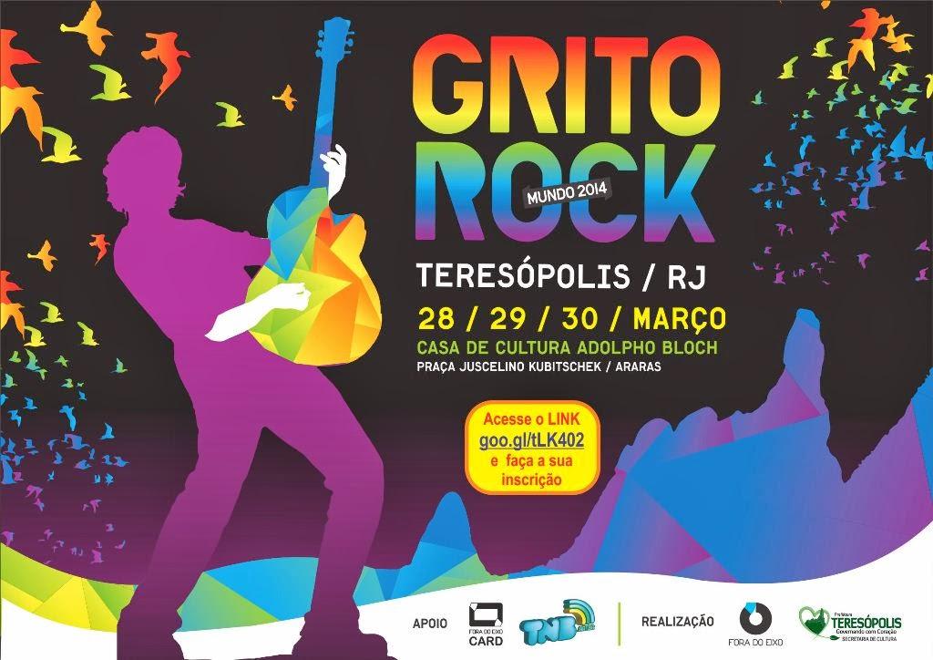 Teresópolis promove o 1º Grito Rock - Festival integrado deve atingir 40 países em 2014