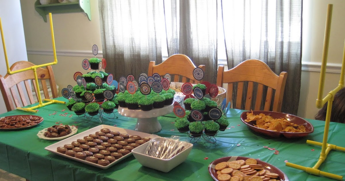 Ramblings from the sunshine state football birthday party for Last minute party ideas