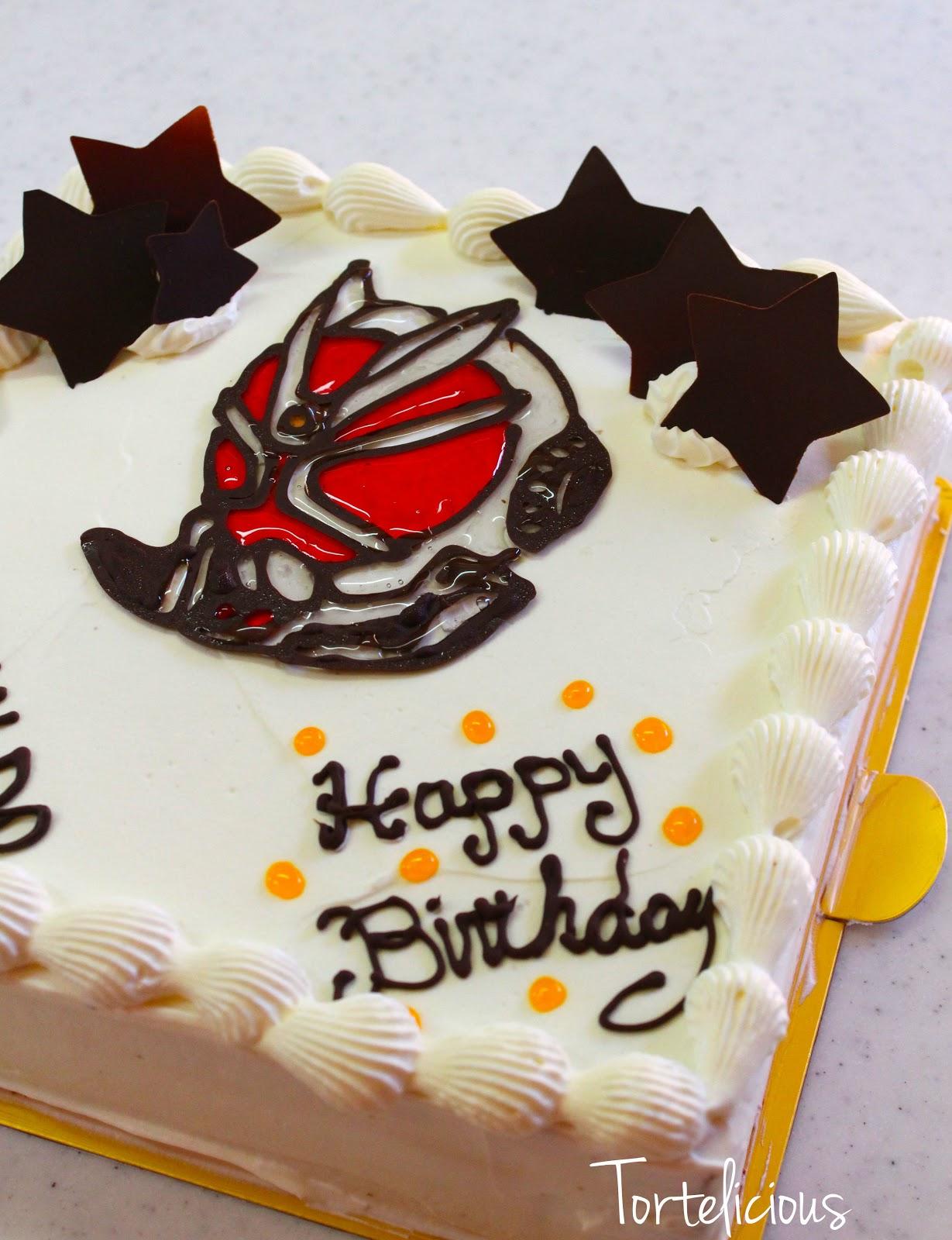 Tortelicious Kamenrider Wizard Cake