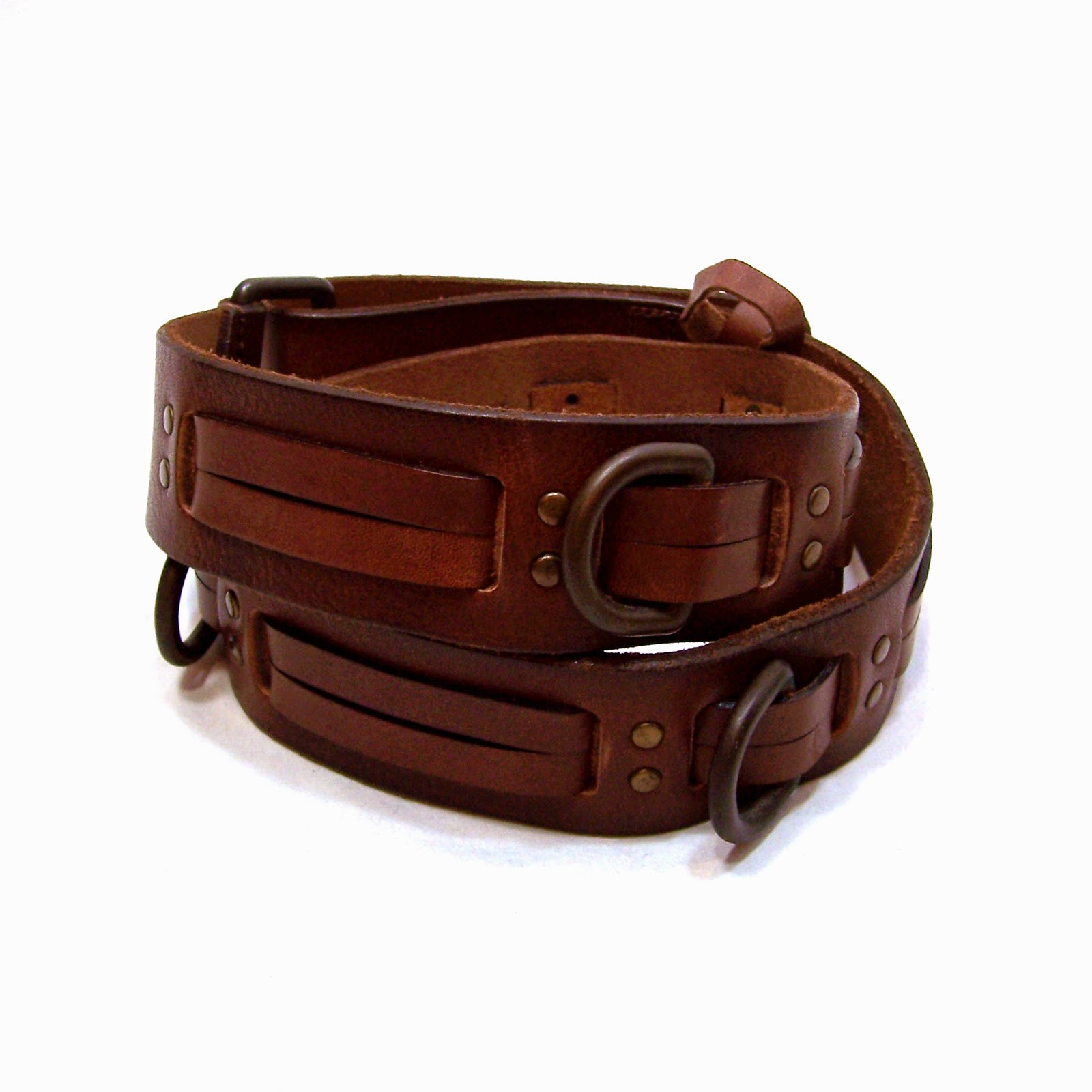 ralph s thick brown leather belt