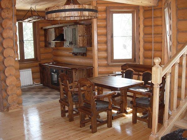 Мебель для дома из сруба