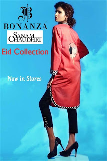 Sanam Chaudhri Tunics for Eid