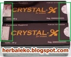 JUAL CRYSTAL X asli | mengatasi masalah dalam 1 minggu