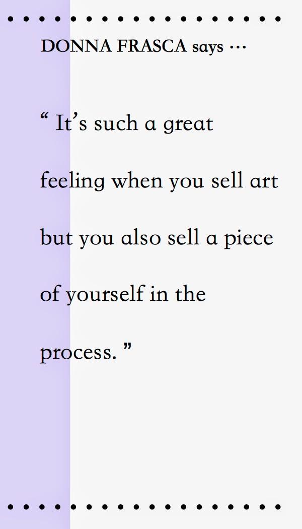 Donna Frasca says …