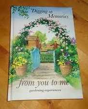 Find Me a Gift Digging Up Memories from you to me Garden Journal