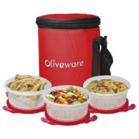 Buy Oliveware Kitchen Storage & Containers Products at Flat 51% Cashback:Buytoearn