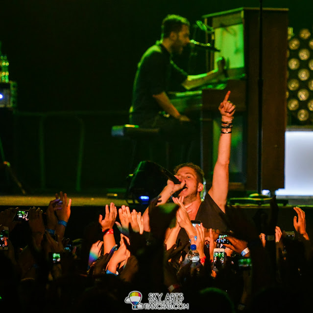 Ryan's close up interaction with OneRepublic Fans!! Are you the lucky one?! OneRepublic Native Live in Malaysia 2013