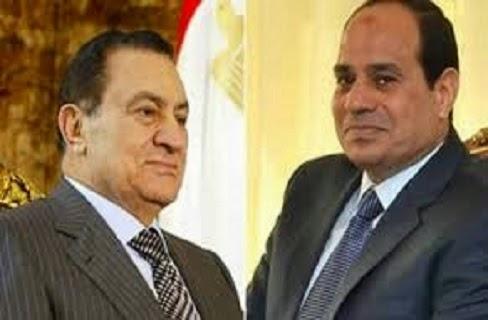 فى لقائه بالمثقفين: عبد الفتاح السيسي يقول كلاما لا يصدق في حق حسني مبارك