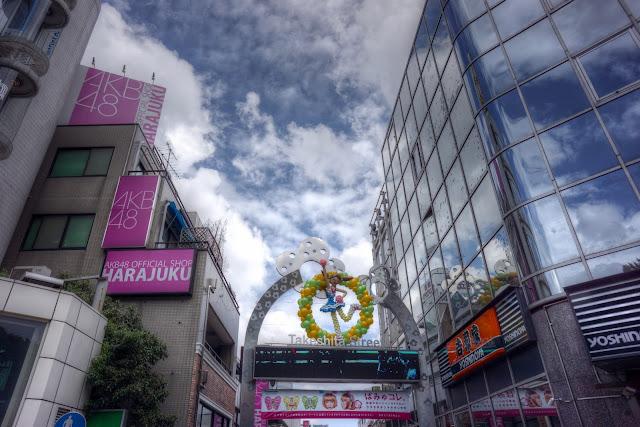 Takeshita Street with ShiftN