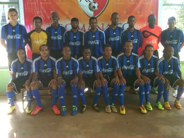 Liga Mayor 2014- Romana FC en entrenamientos