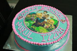 Icing Image Cake RM 55