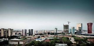 arquitectura contemporanea y torres en barcelona