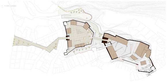 V+M Arquitectos Valencia Intervención Castillo Buñol