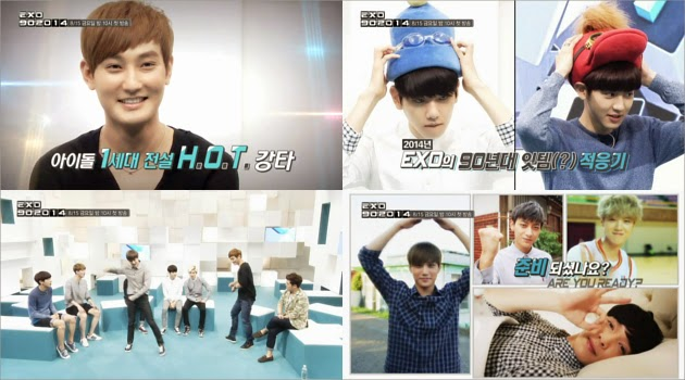 Ini Video Preview 'EXO 90:2014' dengan Bintang Tamu Kangta