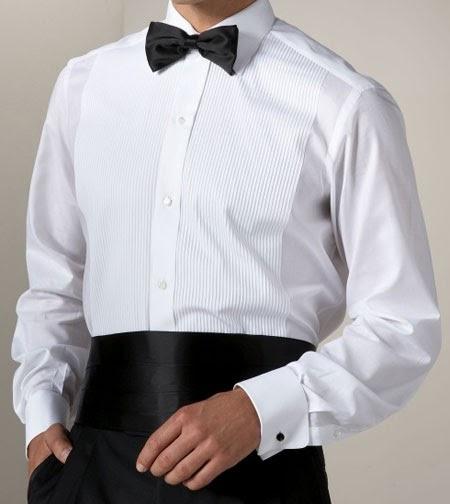 Stylefluid trendz the tuxedo for Tuxedo shirt french cuff