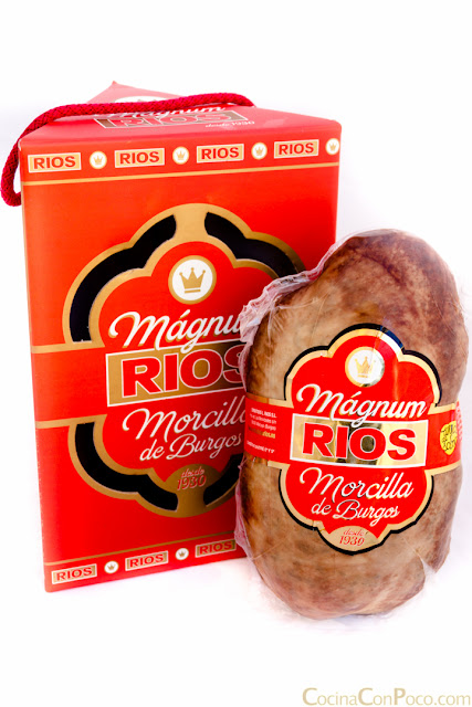Magnum de morcilla de Burgos Rios con manzana