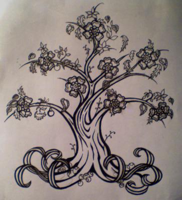 family tree tattoo designs gallery tattoo. Black Bedroom Furniture Sets. Home Design Ideas
