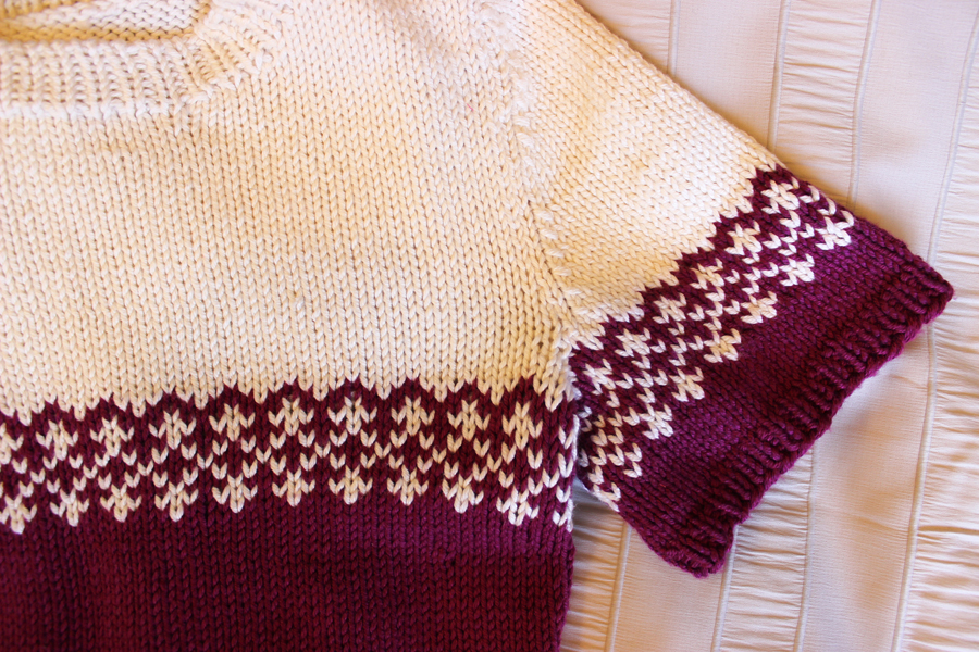 Making It Well: Completed: First Fair Isle