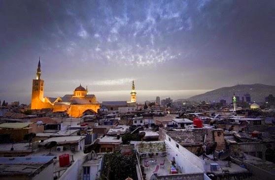 Keindahan Kota Tua Damaskus Yang Bersejarah dan Bernuansa Islam