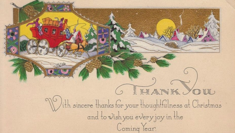 The Estate Sale Chronicles: 1930: Merry Christmas, to Husband from ...
