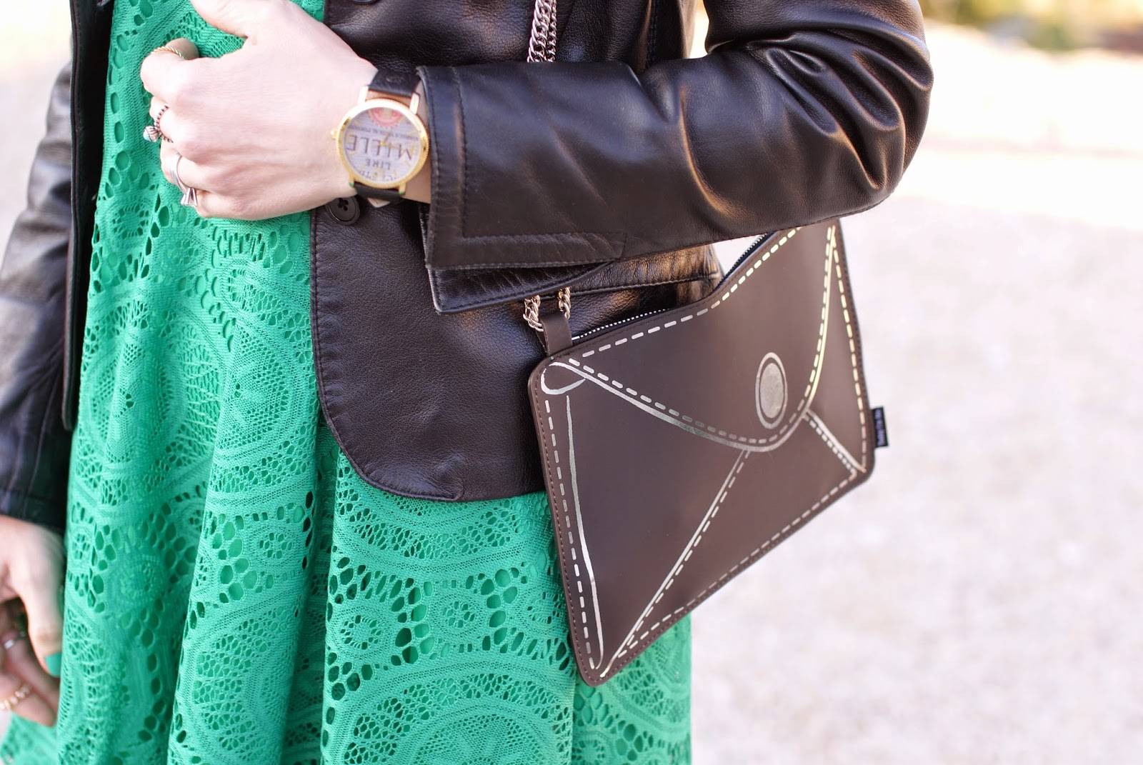 Today I'm me evening bag, Millelire watch, Fashion and Cookies, fashion blogger