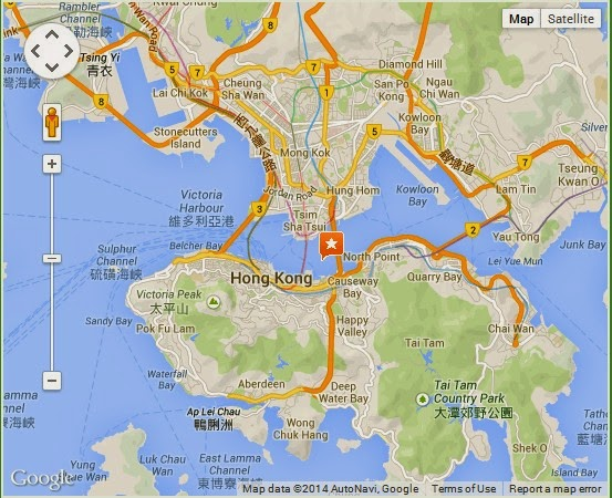 how to get to victoria harbour hong kong