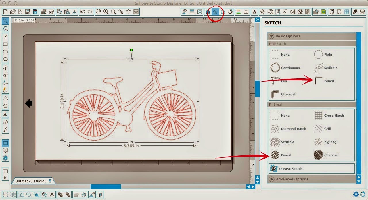 How To Fill In Colors In Silhouette Design Software