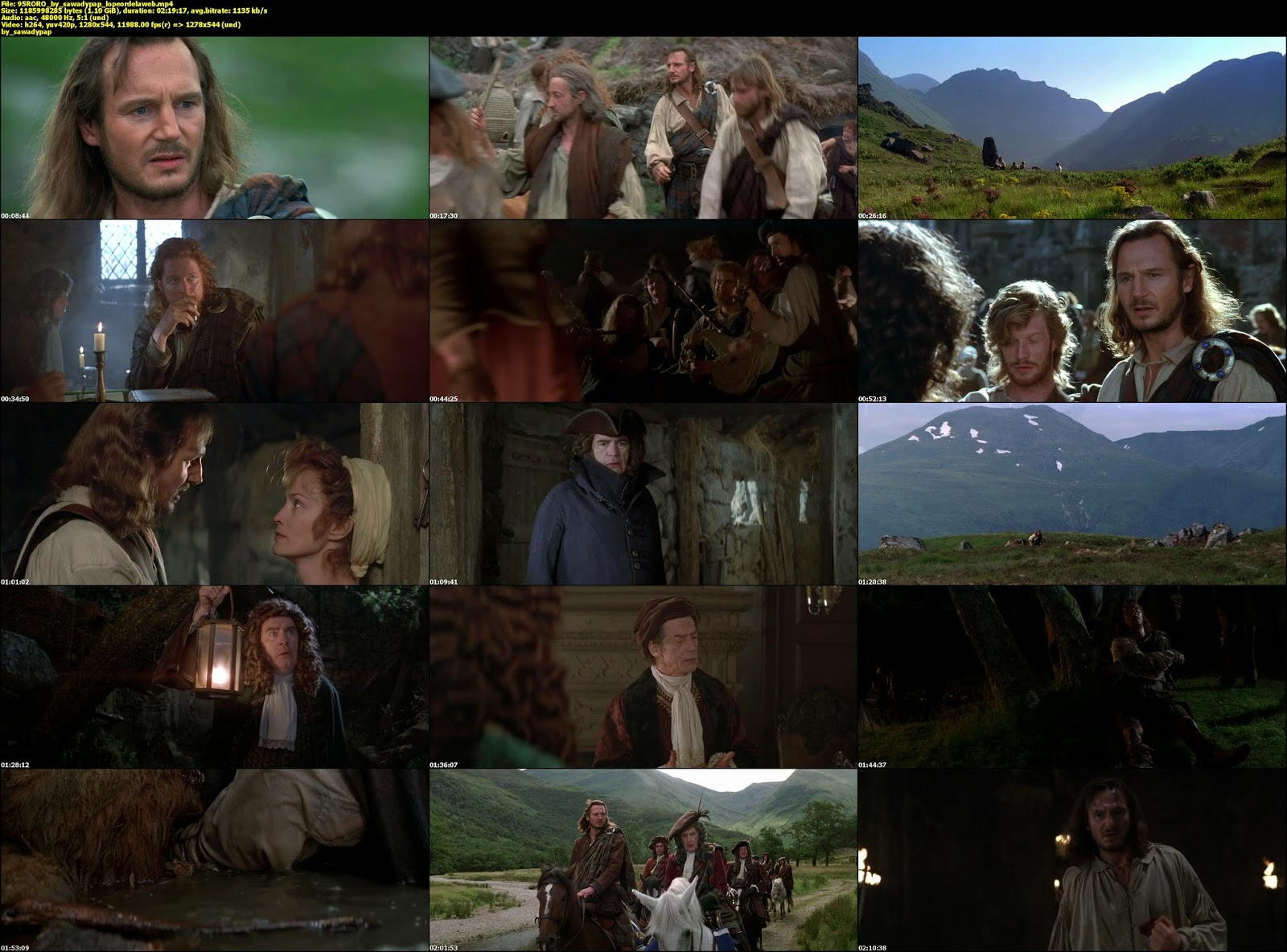 Rob Roy [1995] [BBRip] [Subtitulada]