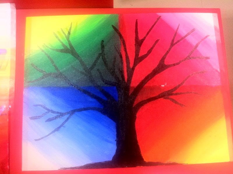 Arts And Crafts Ideas For Kids Summer Camp Part - 22: Summer Camp Project | Canvas Painting For Kids | Part 4