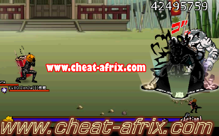 Cheat 1 Hit Kill Ninja Saga Terbaru Cheat-Afrix FIX