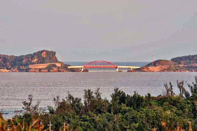 bridge, Ikei and Miyagi Islands