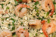 Gingersnaps Roasted Shrimp And Orzo