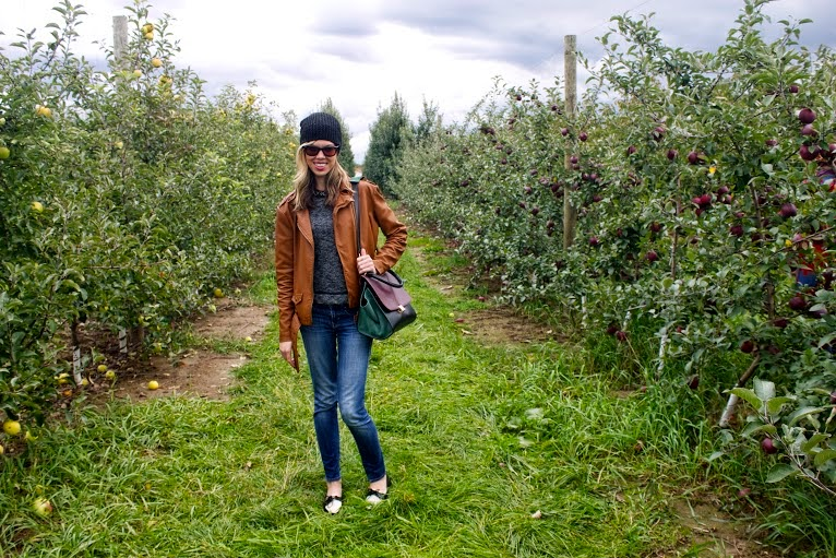 Apple Orchard Outfit Post, Project Soiree